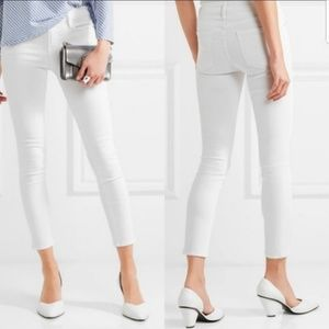 Frame Cropped Le Skinny De Jeanne Jeans